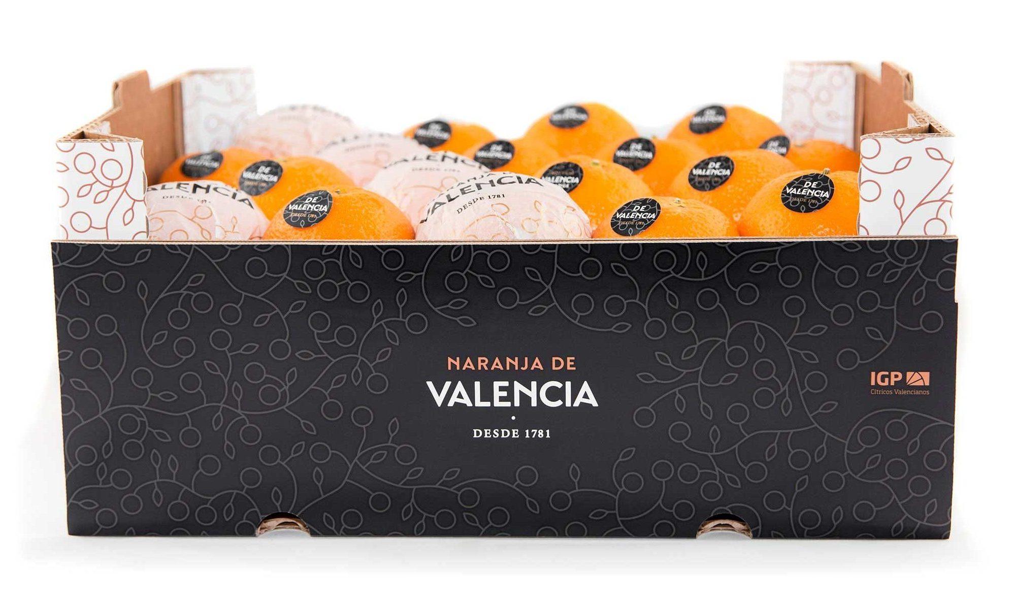Packaging Naranjas de Valencia y Valencia Orange