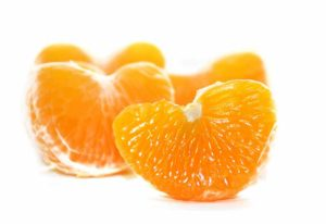 Sabrosos gajos de mandarina valenciana
