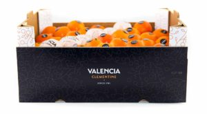 Caja de mandarinas de Valencia Clementine