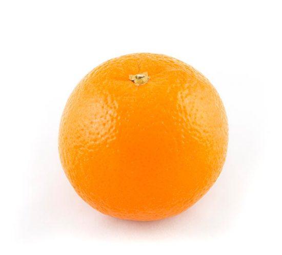 Naranja de Valencia en primer plano