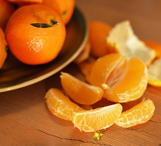 Mandarinas para mantenerse en forma
