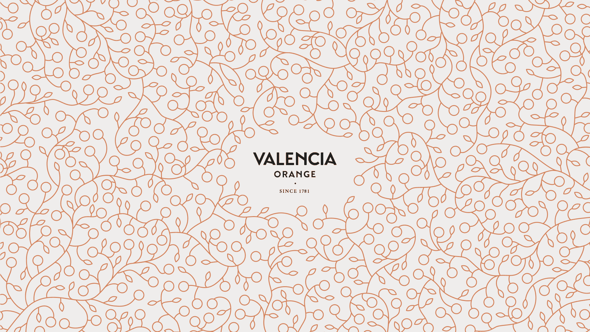 Valencia-Orange von 1781